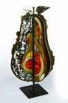 М.П.Бекетов. Райская груша. Медь, эмаль, латунь, стекло. Высота 70 см. 2013 .