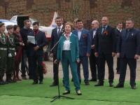 Открытие памятника авиатехникам