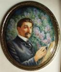 Б.М.Михайленко. Портрет М.И.Врубеля.