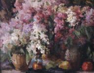 В.А. Назаренко. Сирень. 2007. Х., м. 60х70.