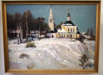 В ЯХУ открылась выставка Владимира Назаренко