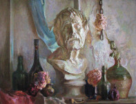 В.А. Назаренко. Натюрморт. 2005. Х., м. 70х90.
