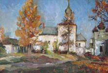 В.А. Назаренко. Осень в Борисоглебе. 2005. Х., м. 30х50.