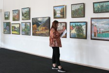 Вернисаж выставки «На просторах России»