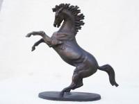 Г.Г.Алексанян. Неистовый конь. 2016. Бронза. 23х7х22 см.