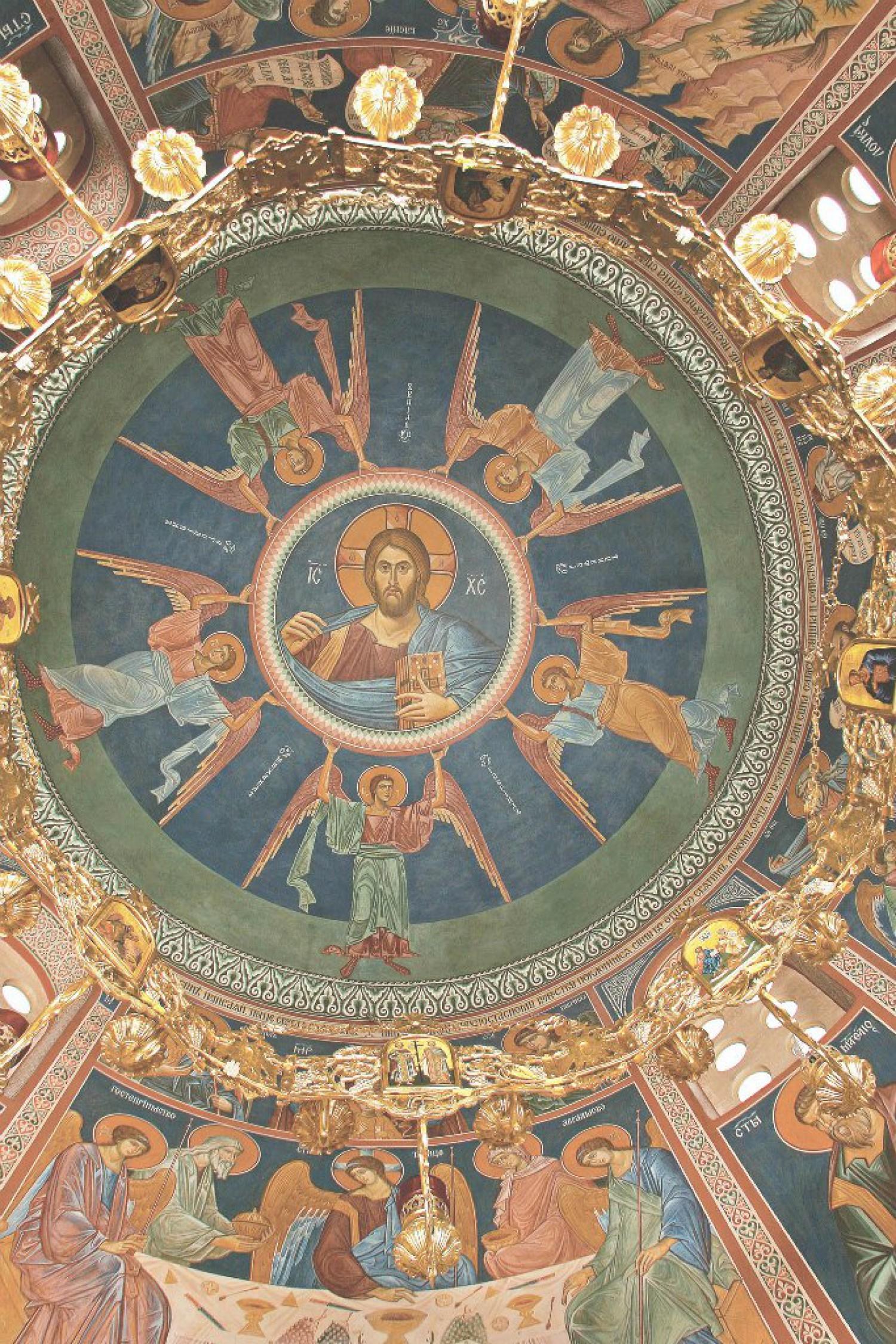 Н.А.Мухин. Росписи часовни свт.Тихона Задонского. Лепавина, Хорватия. 2007 - 2008