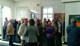 Состоялось открытие юбилейной выставки Олега Отрошко