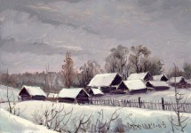 О.П.Отрошко. Деревня