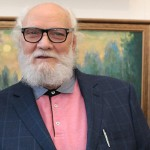 Состоялся вернисаж юбилейной выставки Олега Отрошко