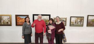 Открылась выставка живописи Елены и Аркадия Пивень