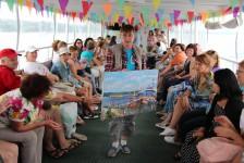Участие наших художников в проекте «Поезд на пленэр»