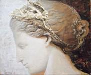 А.Н.Сериков. Победа. 1989. 50х60 см. холст, акрил.