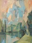 А.С.Александров. Под небом. 2015 г. Оргалит, акрил. 144х110 см.