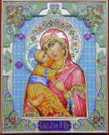 В.И.Поляков. Владимирская икона Божией Матери.