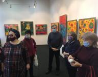 Открылась персональная выставка Олега Рожкова «Видимое невидимого»