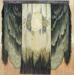 """Л.С.Романова. Гобелен """"Солнце в зените"""". 1990. 3х2,5 м. Шесть, ручное ткачество."""