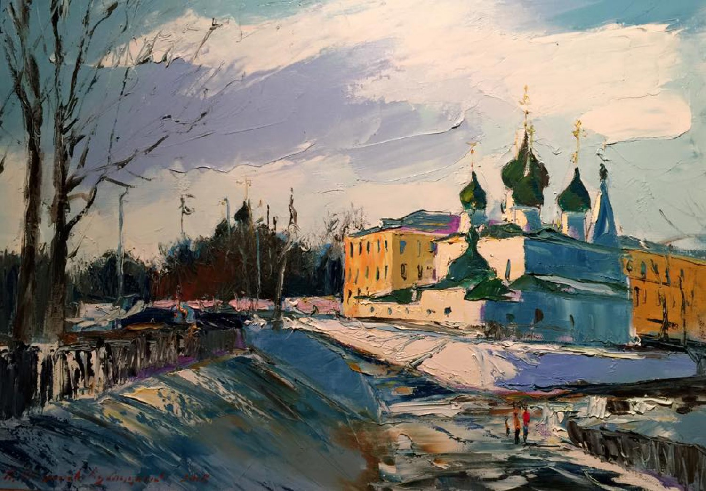 М.А.Шиханов-Кублицкий. Церковь Спаса-на-Городу. 2015. 50х70. Х.м..