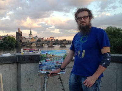 В.А.Шиханов. Фото с сайта художника