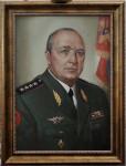 Е.А.Смирнов. Генерал А.Ф.Маслов. Х.м.. 70х50 см.