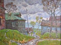 С.И.Соколов. После дождя. 2016. К., м.