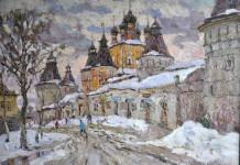 С.И.Соколов. Борисоглеб зимой. К., м.