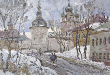 С.И. Соколов. Дорога в кремль. К., м. 40х50.