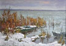 С.И. Соколов. Лодки. 2017. К., м.