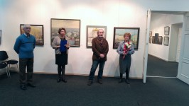 Открытие мемориальной выставки Михаила Савицкого