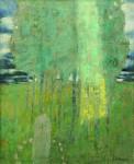 А.Н.Жевакин. Священная роща. 2011. 90х70 см. Холст, масло.