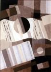 В.Максимова. Триптих Русское Поле 2. 60х45 см., текстильный коллаж.