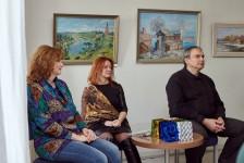 Выставка кимрских художников «Родные берега» в Угличском Доме дружбы