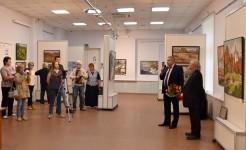 Выставка Владимира Литвинова «Сотри случайные черты...»