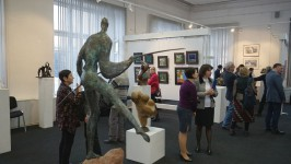 Открылась групповая выставка владимирских художников «Силуэт и цвет»