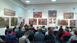 Открытие юбилейной выставки Владимира Затучного